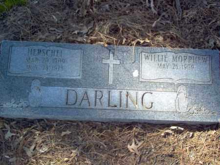 DARLING, HERSCHEL - Cross County, Arkansas | HERSCHEL DARLING - Arkansas Gravestone Photos