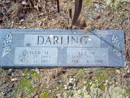 DARLING, OLIVER M - Cross County, Arkansas | OLIVER M DARLING - Arkansas Gravestone Photos