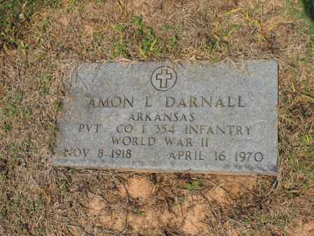 DARNALL (VETERAN WWII), AMON L - Cross County, Arkansas | AMON L DARNALL (VETERAN WWII) - Arkansas Gravestone Photos
