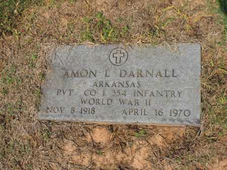 DARNALL (VETERAN WWII), AMON L - Cross County, Arkansas   AMON L DARNALL (VETERAN WWII) - Arkansas Gravestone Photos