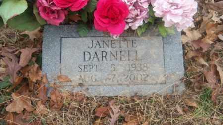 DARNELL, JANETTE - Cross County, Arkansas | JANETTE DARNELL - Arkansas Gravestone Photos