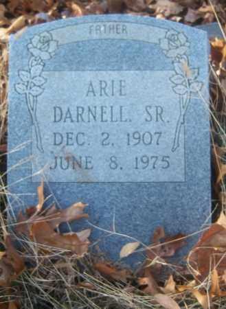 DARNELL, SR, ARIE - Cross County, Arkansas | ARIE DARNELL, SR - Arkansas Gravestone Photos