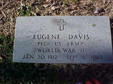 DAVIS  (VETERAN WWII), EUGENE - Cross County, Arkansas   EUGENE DAVIS  (VETERAN WWII) - Arkansas Gravestone Photos