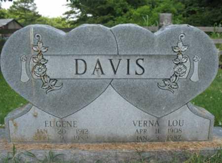DAVIS, EUGENE - Cross County, Arkansas | EUGENE DAVIS - Arkansas Gravestone Photos