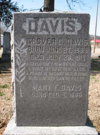 DAVIS, GROVER G. - Cross County, Arkansas | GROVER G. DAVIS - Arkansas Gravestone Photos