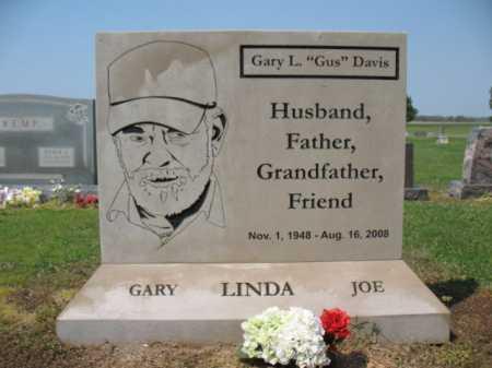 "DAVIS, GARY L ""GUS"" - Cross County, Arkansas   GARY L ""GUS"" DAVIS - Arkansas Gravestone Photos"