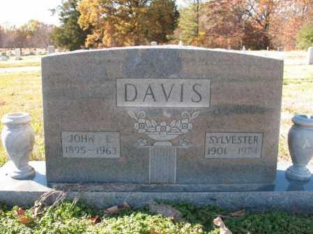 ORMAN DAVIS, IVY SYLVESTER - Cross County, Arkansas | IVY SYLVESTER ORMAN DAVIS - Arkansas Gravestone Photos