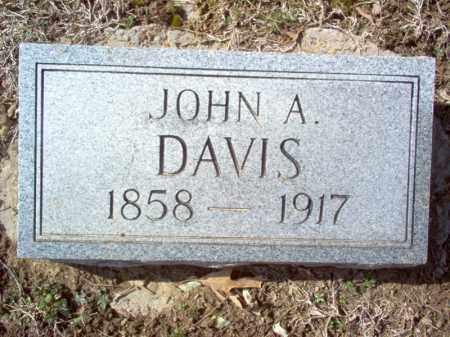 DAVIS, JOHN A - Cross County, Arkansas   JOHN A DAVIS - Arkansas Gravestone Photos