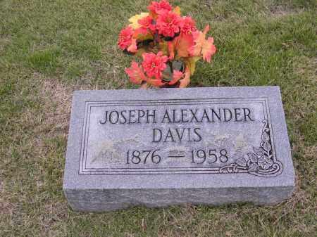 DAVIS, JOSEPH ALEXANDER - Cross County, Arkansas | JOSEPH ALEXANDER DAVIS - Arkansas Gravestone Photos