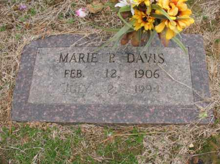 DAVIS, MARIE P - Cross County, Arkansas   MARIE P DAVIS - Arkansas Gravestone Photos