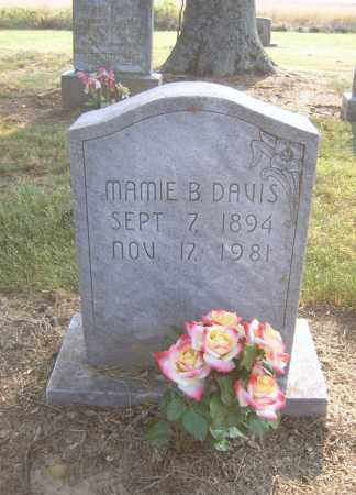 DAVIS, MAMIE B - Cross County, Arkansas | MAMIE B DAVIS - Arkansas Gravestone Photos