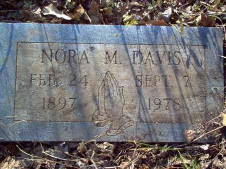 DAVIS, NORA M - Cross County, Arkansas   NORA M DAVIS - Arkansas Gravestone Photos