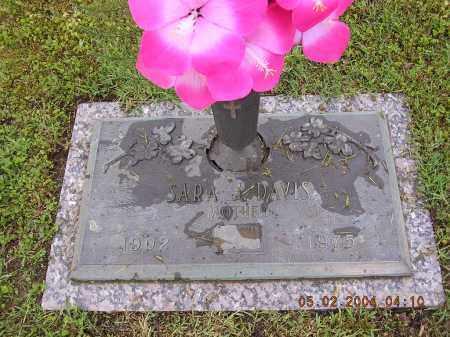 DAVIS, SARAH J - Cross County, Arkansas | SARAH J DAVIS - Arkansas Gravestone Photos