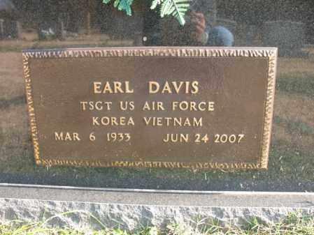 DAVIS (VETERAN 2 WARS), EARL - Cross County, Arkansas   EARL DAVIS (VETERAN 2 WARS) - Arkansas Gravestone Photos