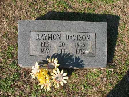 DAVISON, RAYMON - Cross County, Arkansas   RAYMON DAVISON - Arkansas Gravestone Photos