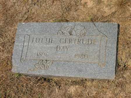 DAY, LOTTIE GERTRUDE - Cross County, Arkansas | LOTTIE GERTRUDE DAY - Arkansas Gravestone Photos