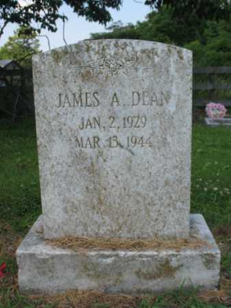 DEAN, JAMES A - Cross County, Arkansas | JAMES A DEAN - Arkansas Gravestone Photos