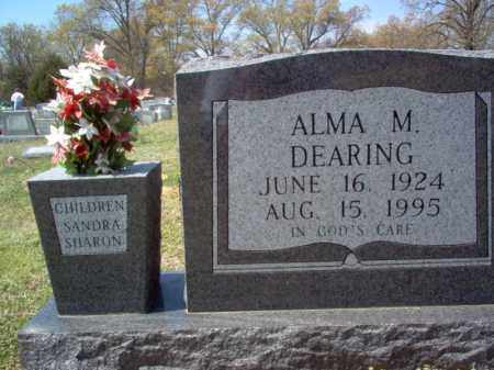 DEARING, ALMA M - Cross County, Arkansas | ALMA M DEARING - Arkansas Gravestone Photos