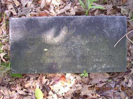 DEARING  (VETERAN WWII), ORBEN L - Cross County, Arkansas | ORBEN L DEARING  (VETERAN WWII) - Arkansas Gravestone Photos