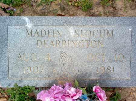 SLOCUM DEARRINGTON, MADLIN - Cross County, Arkansas | MADLIN SLOCUM DEARRINGTON - Arkansas Gravestone Photos