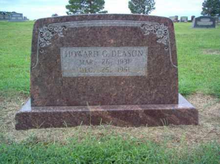 DEASON, HOWARD G - Cross County, Arkansas   HOWARD G DEASON - Arkansas Gravestone Photos