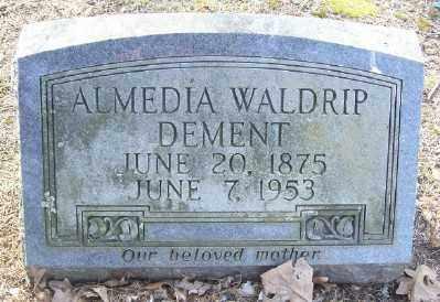 DEMENT, ALMEDIA - Cross County, Arkansas | ALMEDIA DEMENT - Arkansas Gravestone Photos