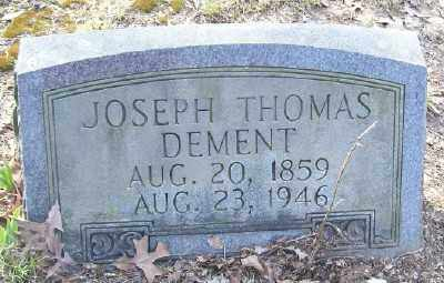 DEMENT, JOSEPH THOMAS - Cross County, Arkansas | JOSEPH THOMAS DEMENT - Arkansas Gravestone Photos