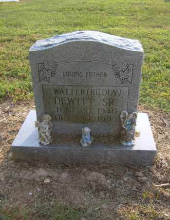 "DEWITT SR, WALTER ""BUDDY"" - Cross County, Arkansas 