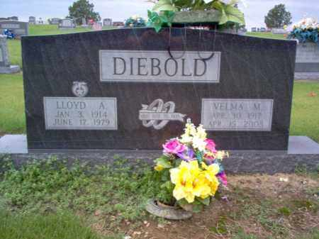 DIEBOLD, VELMA M - Cross County, Arkansas | VELMA M DIEBOLD - Arkansas Gravestone Photos