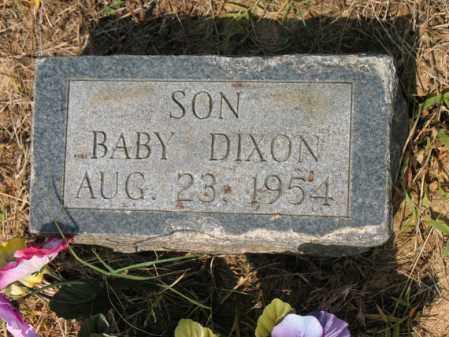 DIXON, BABY - Cross County, Arkansas   BABY DIXON - Arkansas Gravestone Photos