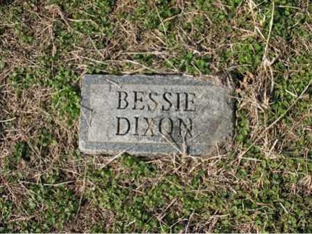 DIXON, BESSIE - Cross County, Arkansas | BESSIE DIXON - Arkansas Gravestone Photos