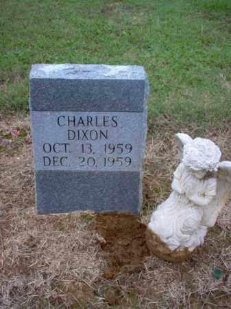 DIXON, CHARLES - Cross County, Arkansas | CHARLES DIXON - Arkansas Gravestone Photos