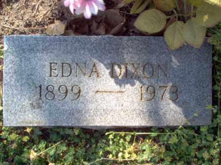 DIXON, EDNA - Cross County, Arkansas | EDNA DIXON - Arkansas Gravestone Photos
