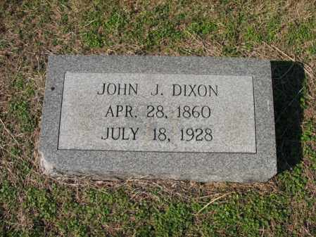 DIXON, JOHN J - Cross County, Arkansas | JOHN J DIXON - Arkansas Gravestone Photos