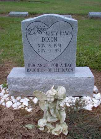 DIXON, MISTY DAWN - Cross County, Arkansas | MISTY DAWN DIXON - Arkansas Gravestone Photos