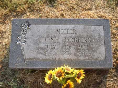 DOBBINS, IRENE - Cross County, Arkansas | IRENE DOBBINS - Arkansas Gravestone Photos