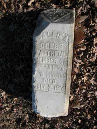 DOBBS, SALLIE A - Cross County, Arkansas | SALLIE A DOBBS - Arkansas Gravestone Photos