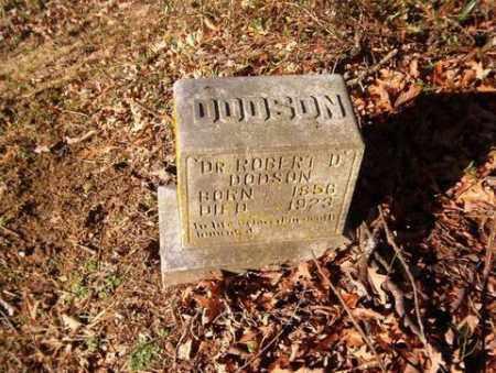 DODSON, DR., ROBERT D. - Cross County, Arkansas | ROBERT D. DODSON, DR. - Arkansas Gravestone Photos
