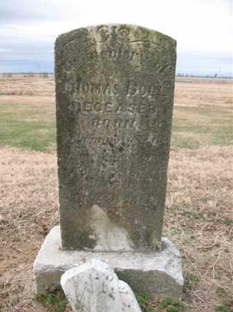 DOLL, THOMAS - Cross County, Arkansas | THOMAS DOLL - Arkansas Gravestone Photos