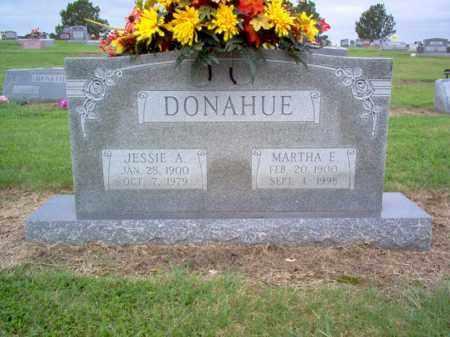 DONAHUE, JESSIE A - Cross County, Arkansas | JESSIE A DONAHUE - Arkansas Gravestone Photos
