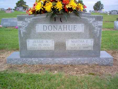 DONAHUE, MARTHA E - Cross County, Arkansas | MARTHA E DONAHUE - Arkansas Gravestone Photos