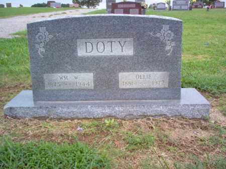 DOTY, WILLIAM W - Cross County, Arkansas | WILLIAM W DOTY - Arkansas Gravestone Photos