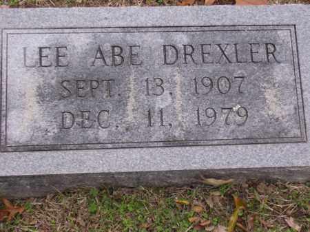 DREXLER, LEE ABE - Cross County, Arkansas   LEE ABE DREXLER - Arkansas Gravestone Photos