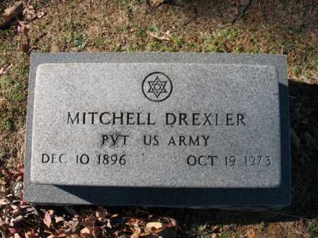 DREXLER  (VETERAN), MITCHELL - Cross County, Arkansas | MITCHELL DREXLER  (VETERAN) - Arkansas Gravestone Photos