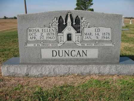 DUNCAN, ED - Cross County, Arkansas | ED DUNCAN - Arkansas Gravestone Photos