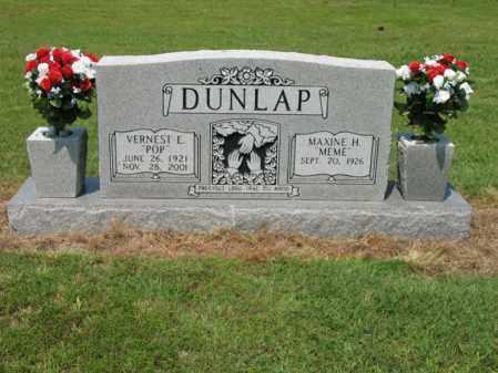 "DUNLAP, VERNEST E ""POP"" - Cross County, Arkansas | VERNEST E ""POP"" DUNLAP - Arkansas Gravestone Photos"
