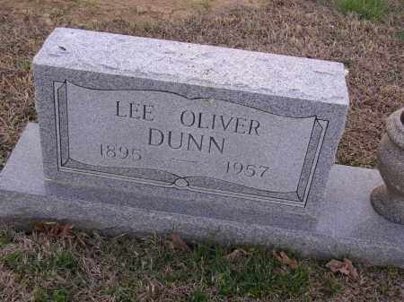 DUNN, LEE OLIVER - Cross County, Arkansas | LEE OLIVER DUNN - Arkansas Gravestone Photos