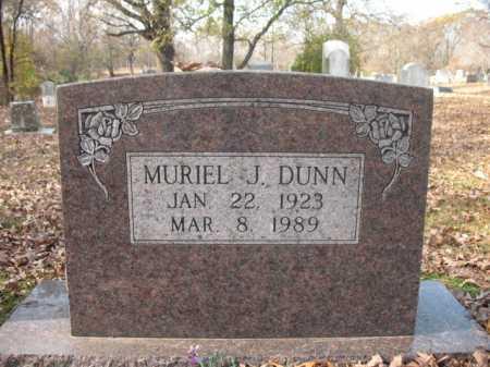 DUNN, MURIEL J - Cross County, Arkansas   MURIEL J DUNN - Arkansas Gravestone Photos
