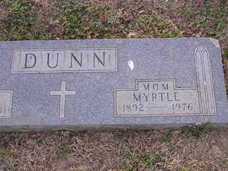 DUNN, MYRTLE - Cross County, Arkansas | MYRTLE DUNN - Arkansas Gravestone Photos