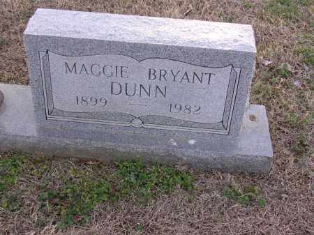 BRYANT DUNN, MAGGIE - Cross County, Arkansas | MAGGIE BRYANT DUNN - Arkansas Gravestone Photos